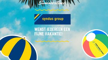 syndus group wenst iedereen een fijne vakantie!