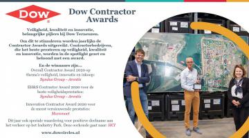 Syndus Group wint maar liefst 3 Contractor Awards