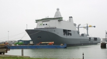 Fiberstruct levert GVK roosters aan Koninklijke Nederlandse Marine